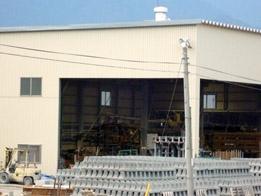 工場の全景