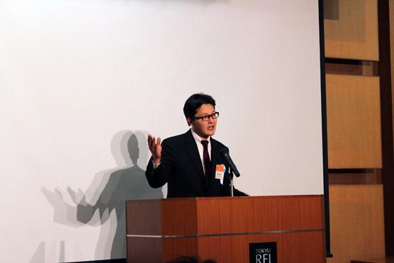 最優秀賞を受賞された新井哲氏