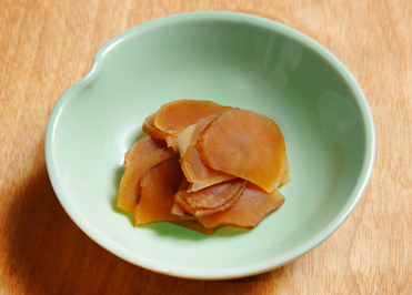 菊芋の味噌漬け , レシピのご紹介